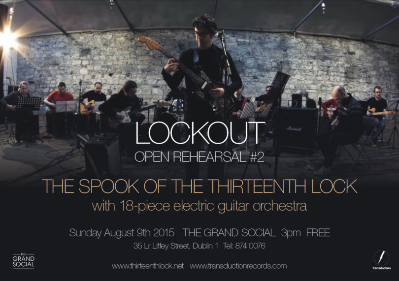 Spook Lockout Open Rehearsal 2015